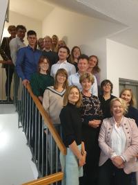 Die Teilnehmer*innen des 2-tägigen Workshops am IPP