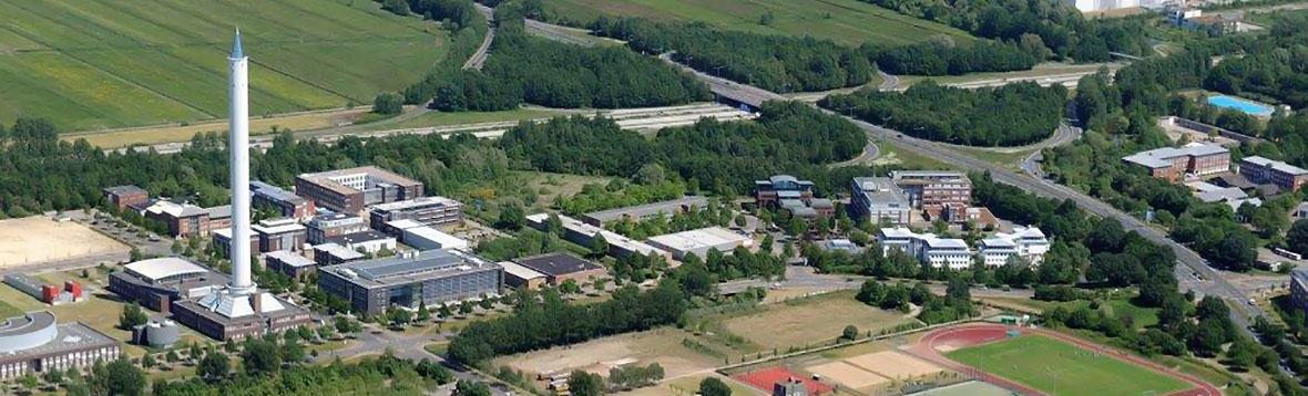 Die Universitaet aus der Luftperspektive Motiv 2-1 (2) | (c) Universität Bremen