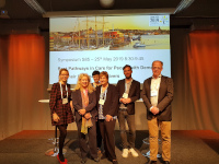 "Prof. Karin Wolf-Ostermann auf dem Symposium ""Best pathways in Care for People with Dementia and their Informal Caregivers"" des IAGG"" (Internationaler Verband für Gerontologie und Geriatrie) - Kongress der Europäischen Region 2019, Schweden"