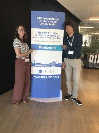 Abteilung Sozialepidemiologie präsentiert Forschungsergebnisse auf der internationalen Konferenz zu Urban Health