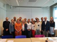 Prof. Karin Wolf-Ostermann und Prof. Ansgar Gerhardus vom IPP auf dem Kick-off Meeting des SHARED-Programms in Rotterdam